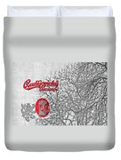 Budweis Czech Republic - 700 Years Of Brewing Tradition Duvet Cover