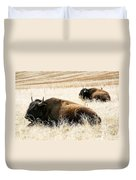 Buff And Friend 2 Duvet Cover