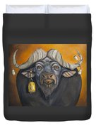 Buffalo Bells Duvet Cover