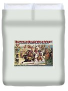 Buffalo Bill: Poster, 1899 Duvet Cover