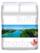 Buffalo Canada Duvet Cover