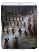 Bug Collector - So What's Bugging You Duvet Cover by Mike Savad
