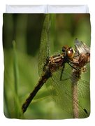 Bug Eyed Dragon Fly Duvet Cover