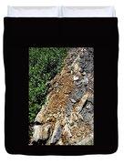 Bug Filled Bear Clawed Log Duvet Cover