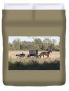 Buggy And Wagon Duvet Cover