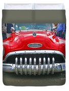 Buick With Teeth Duvet Cover