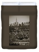 Buildings Duvet Cover