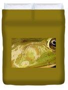 Bullfrog Ear Duvet Cover by Ted Kinsman