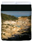Bumpass Hell Duvet Cover