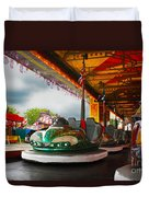 Bumper Cars Duvet Cover