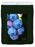 Bunch Of Blueberries Duvet Cover