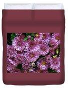 Bunch Of Chrysanths Duvet Cover