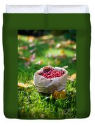 Bunch Of Cranberries Duvet Cover