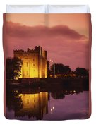 Bunratty, County Clare, Ireland Duvet Cover