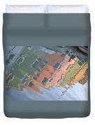 Burano House Reflections Duvet Cover