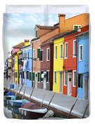 Burano Italy 2 Duvet Cover