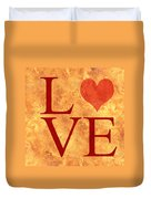 Burning Love Duvet Cover