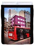 Bus Stop - La Coruna Duvet Cover