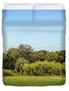 Busch Gardens Landscape Duvet Cover
