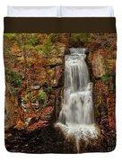 Bushkill Main Falls Duvet Cover