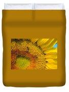 Busy Sunflower Duvet Cover