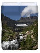 Butte At Lunch Creek  Duvet Cover