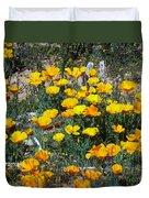 Buttercups In The Desert Duvet Cover