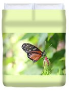 Butterfly At Rest Duvet Cover
