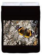 Butterfly Bark Duvet Cover