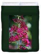 Butterfly Bush Duvet Cover
