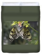 Butterfly Duo Duvet Cover