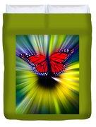 Butterfly Fly Duvet Cover