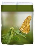 Butterfly Garden, Calgary Zoo, Calgary Duvet Cover