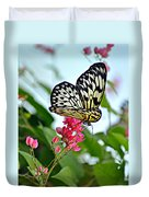 Butterfly Glow Duvet Cover