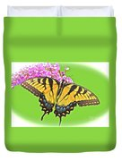 Butterfly In Candyland Duvet Cover