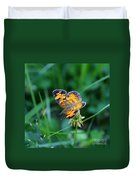 Butterfly In Square  Duvet Cover