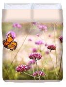Butterfly - Monarach - The Sweet Life Duvet Cover