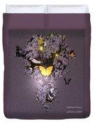 Butterfly Paradise Duvet Cover