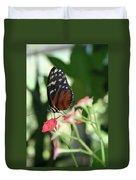 Butterfly Perch Duvet Cover