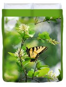 Butterfly Tiger Swallow Duvet Cover