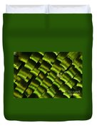 Butterfly Wing Scales Duvet Cover