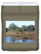Buxton Salt Marsh - Outer Banks Nc Duvet Cover
