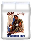 Buy War Bonds And Stamps Duvet Cover
