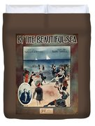 By The Beautiful Sea, 1914 Duvet Cover
