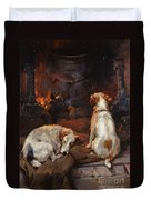 By The Hearth Duvet Cover