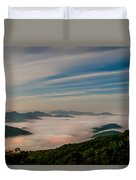 By The Light Of The Moon Duvet Cover
