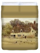 By The Old Cottage Duvet Cover