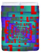 Byte Byway Duvet Cover by Tim Allen