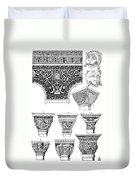 Byzantine Ornament Duvet Cover