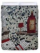 Cabaret Wine Duvet Cover
